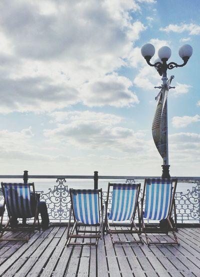 Striped Brighton Beach Life Stripes Urban Geometry