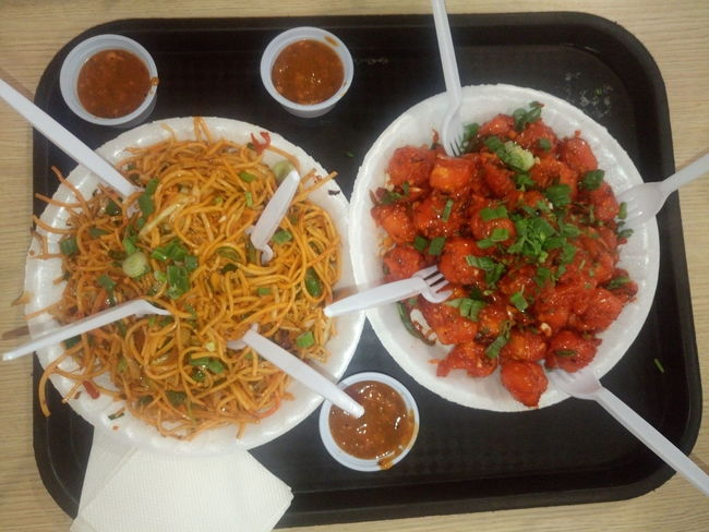 Asian Food Chinese Food Chinese Takeout Chopsticks Close-up Day Food Food And Drink Freshness Ground Beef Healthy Eating Indoors  Meal Meat Meatball Minced No People Noodles Plate Ready-to-eat Serving Size Spaghetti Table Vegetable