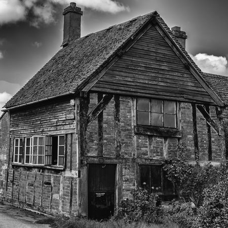 The old forge in Didbrook Architecture Blacksmith  Building Building Exterior Built Structure Day Forge  House Mono Monochromatic Monochrome Monochrome Photography Outdoors