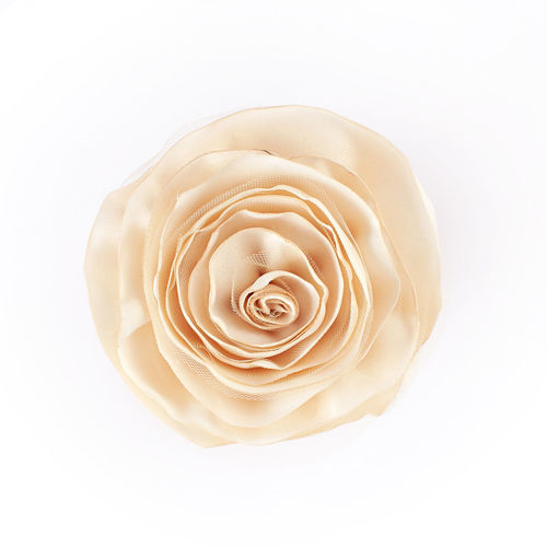 Beautiful fabric handmade flower Art And Craft Fashion Wedding Accessories Beauty Bridal Bouquet Bride Close-up Clothing Corsage Craft Fabric Floral Flower Flower Head Hair Accessories Hairband Handmade Rosé Satin Shabby Silk Softness Studio Shot Top View