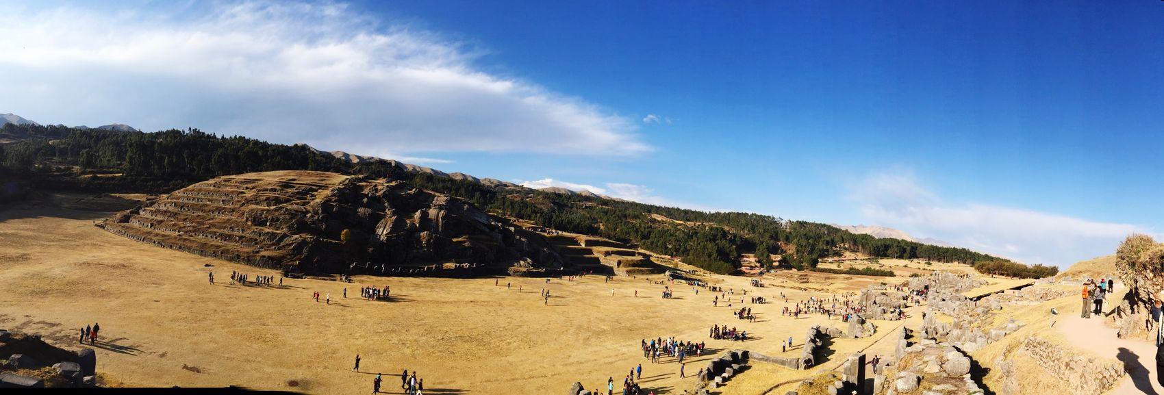 Sacsayhuaman Cusco Peru View Landscape