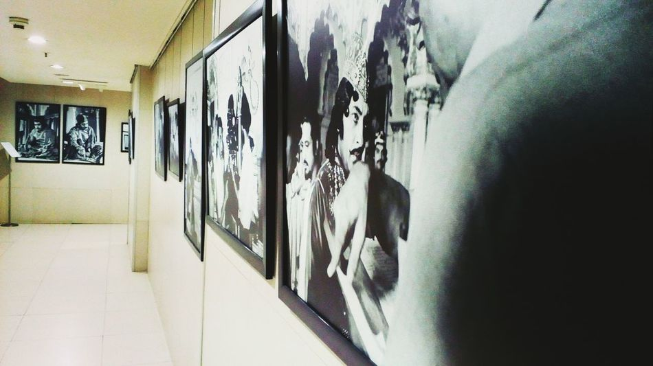 The portraits just depicts how histroic indian cinema joy... Photography Cinema In Your Life Cinema Indianstories Chennai Diaries PortraitPhotography Colorsplash Frame In Frame Indoors  Hanging No People Day