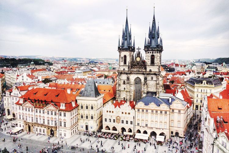 Czech Republic Prague Capture The Moment View From Above Architecture Taking Photos Hello World Light Bright