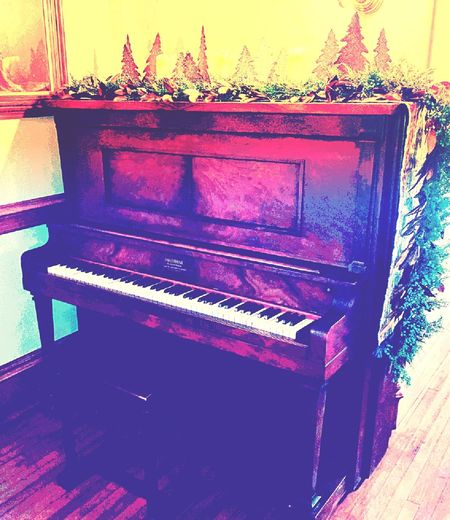 Piano Piano Key Arts Culture And Entertainment No People Indoors  Great Atmosphere Vanderbilt Mansion Portrait Of America Travel Destinations Home Interior Holiday - Event Christmas Decoration Hanging Out