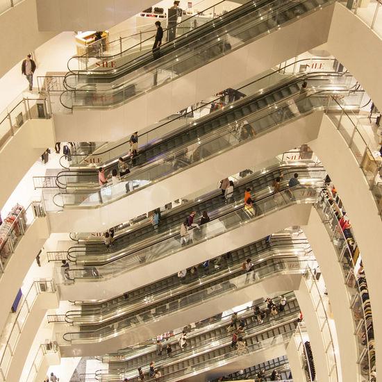 일상 쇼핑 Cityscape Shopping Mall