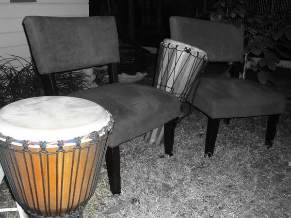 Arrangement Bongo Drum Drum Circle Drums Eclectic New Moon Celebration Outdoor Gathering Still Life