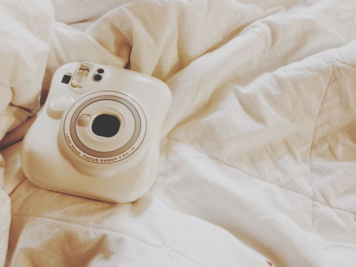 White Instant Camera Camera All My Little Things it is cuteeeee