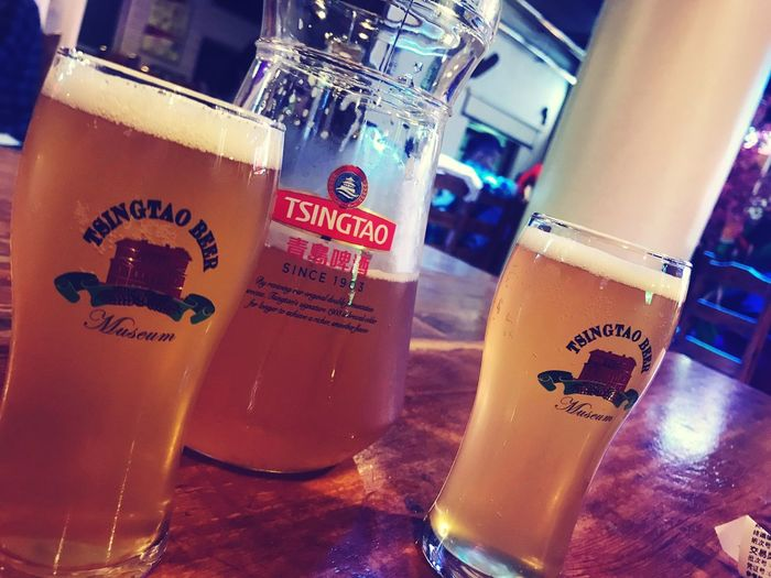QingDao Beer Tsingtao Pint Of Beer Jug Of Beer EyeEmNewHere