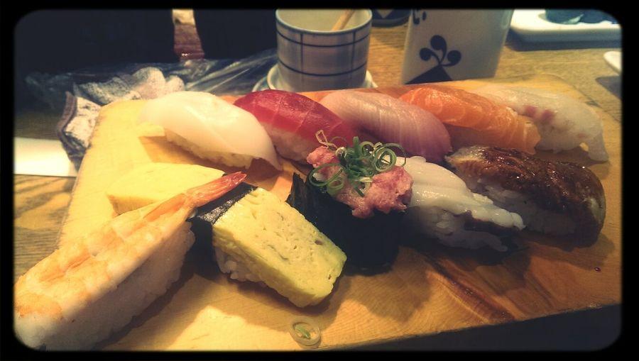いただき お寿司 満足感