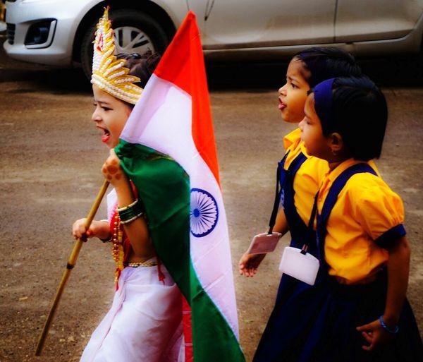 India Independance Day Independence Day Bharatmatakijai VandeMataram