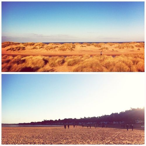 NY day walk on the beach - always a must #norfolksky #NFN