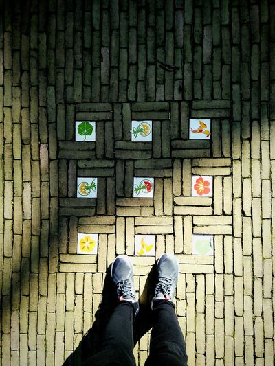 Happy ground. Floor Footsteps Showcase March Ground Art Street Stepbystep Walking Holland Netherlands Up Close Street Photography