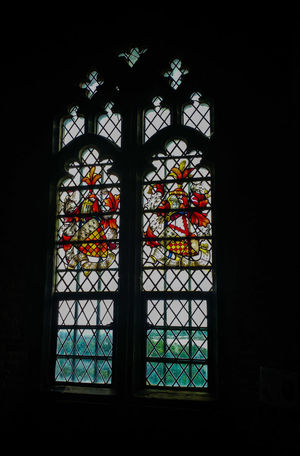 National Trust Window Stained Glass Multi Colored Church Dark Indoors  Place Of Worship Window Frame Colorful Arch