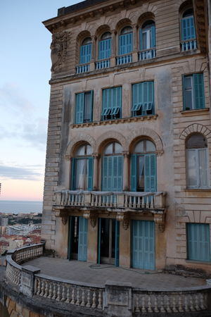 Architecture Belle Epoque Building Façade Monaco
