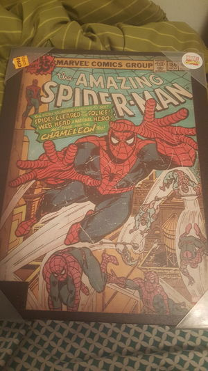 I can't wait to find a place to hang this! Spider Man Marvelcomics Marvel Comics MARVEL ❤ I'm A Marvel Girl Marvel Films Comic Books Comic Art Spidey Spidey Life.
