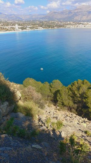I wanna one xD Albir Alicante Landscape SPAIN Ship Tranquility Water High Angle View Sea Nature Outdoors Tranquility Day