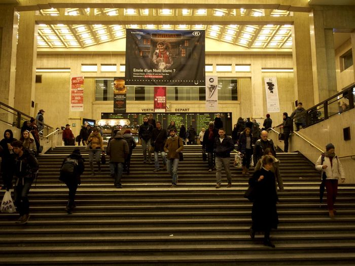 Adult Adults Only Architecture Check This Out City Concert Hall  Day Illuminated Indoors  Large Group Of People Men People Real People Staircase Taking Photos