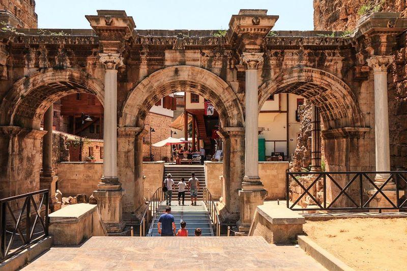 Antalya Kaleiçi üçkapılar girişi Travel Turkey Antalya History Tarih