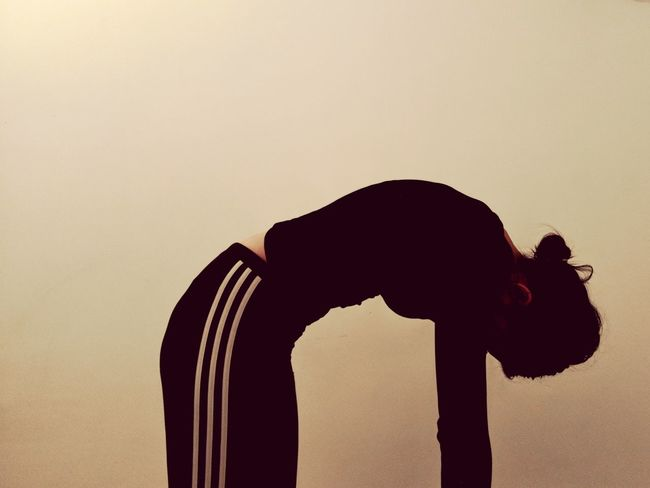 self portrait x 1 Yoga Indoors  Angrycat Self Portrait One Woman Only One Person Studio Shot White Background Silhouette Young Adult People Day Side View EyeEmNewHere Press For Progress