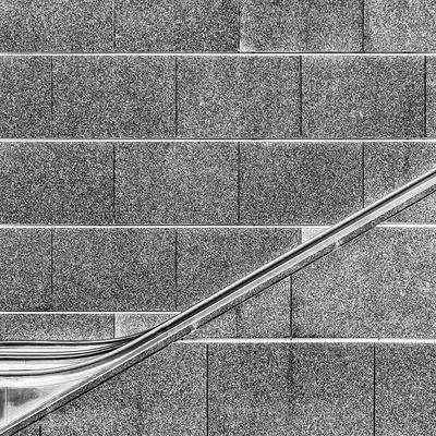 Hidden escalator Abstract Abstractions In Colors Black & White Black And White Black And White Photography Blackandwhite Blackandwhite Photography Blackandwhitephotography Escalator Lines No People Patterns Squarecrop Texture Transportation Wall