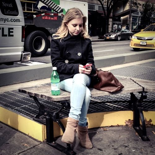 Le fresca en or   Streetphotography Fall 2014 People UWS   Manhattan