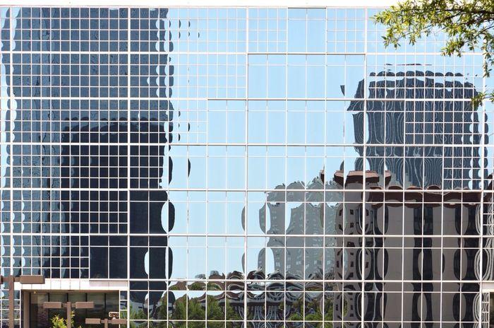 Reflection Glass Building Atlanta Ga