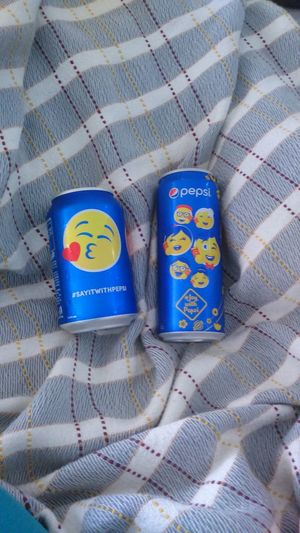 Pepsi cans :-D 2 different sizes Blue No People Close-up Pepsi