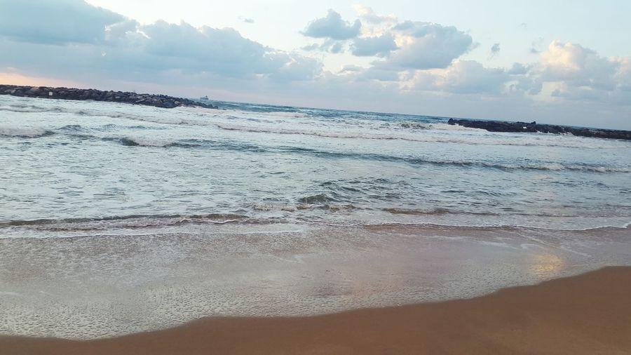 DreamVacation Sea Sea And Sky Seaandclouds Unicbeach Unic Thebeach Special Moment SpecialPlace Calm Water Calm Beautiful Nature BeautifulSea  Beautifulmoments Beautifulview