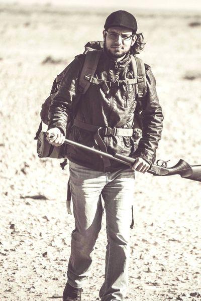 Hanging Out Taking Photos Hello World That's Me Enjoying Life Hunting Hunter Guns Misrata Libya