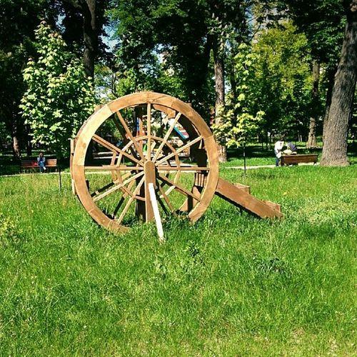 Водяне колесо на Житомирській)) Woterwheel водяноеколесо