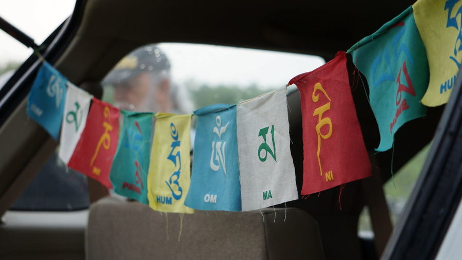 Awesome Weather Close-up Colors Flag Focus On Foreground Hanging Multi Colored No People Outdoors Prayer Flag Prayer Flags  Rains Vibrant Colors Weekend Weekend Getaway