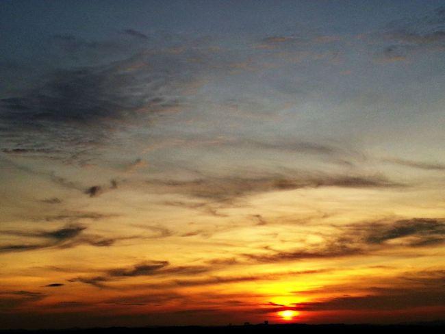 Sunset 070714 Beautiful Clouds Sunset Sun! Popular