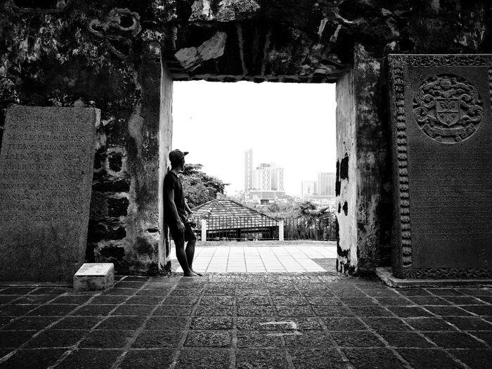 Getting it all together... Melaka StPaulChurch Historic Graveyard Portugesesettlement 1513