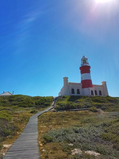 lighthouse Outdoors No People Sky Lighthouse Day Clear Sky Building Exterior Architecture