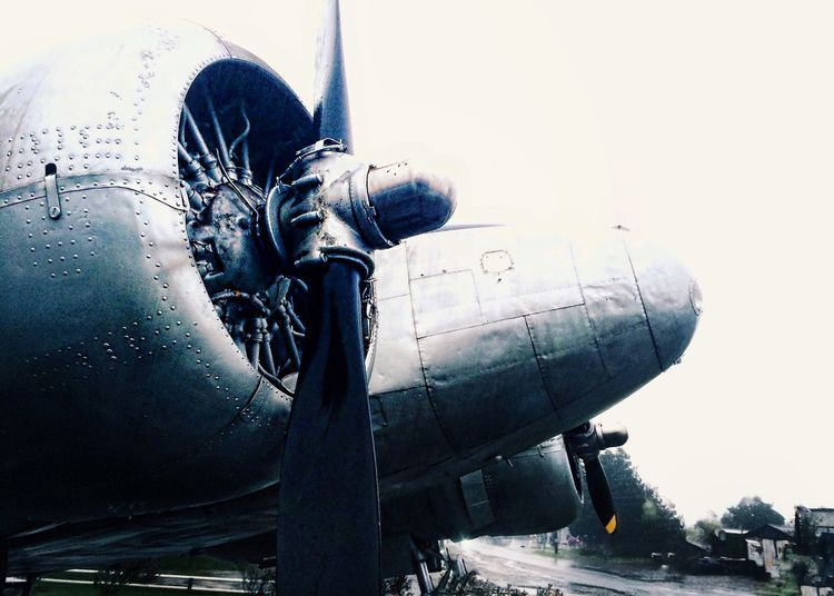 IPhoneography Cloudy Rain Airplane Gorbea