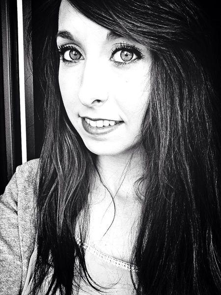 Girl That's Me Blackandwhite Hello World