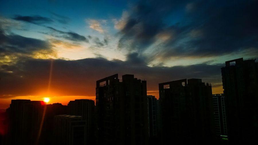 夕阳 夕阳 天空 手机sy 手机摄影 摄影