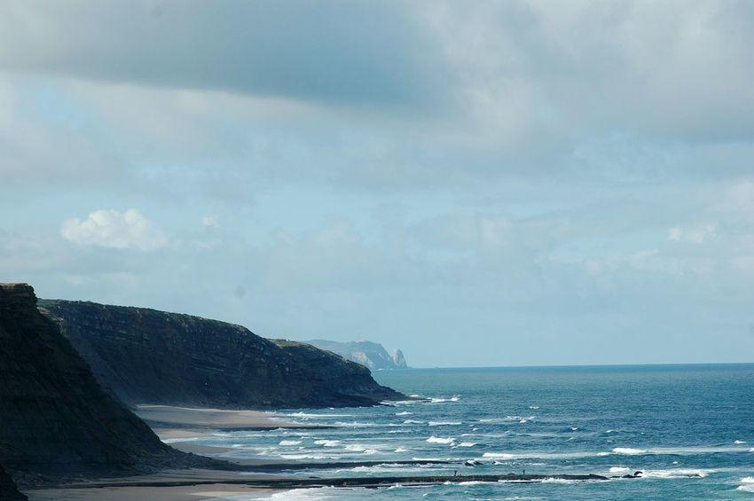 The KIOMI Collection Eyeem Edit Sand Rock Naturelovers Beach Ocean Portugal Sintra