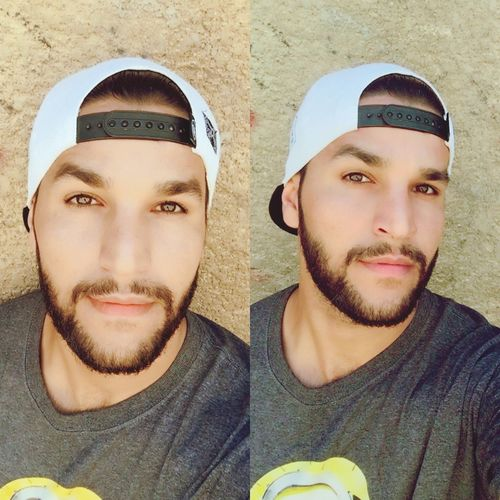 Young Men Portrait Young Adult Looking At Camera Headshot Beard Real People