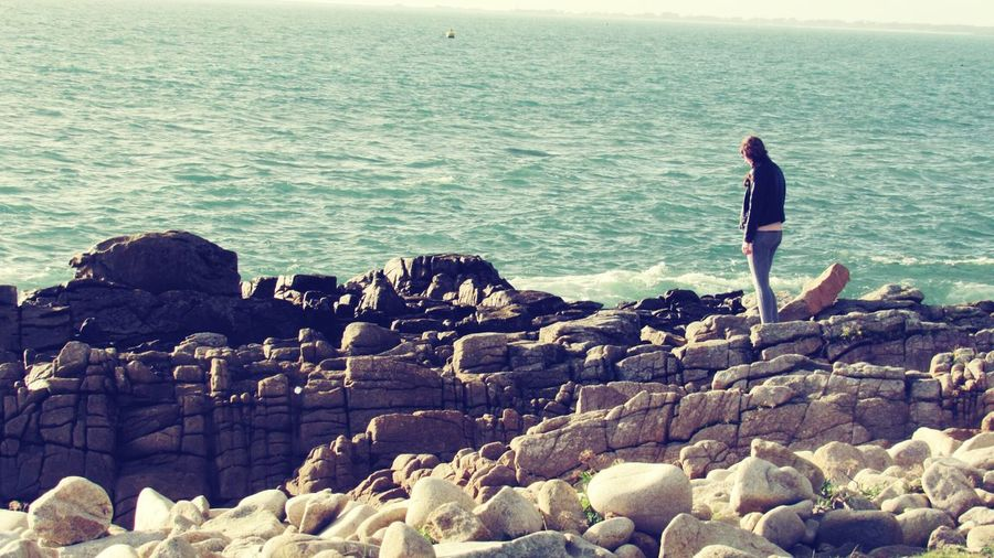 I need to go ... Photography Little Woman Landscape Sea Sea And Sky Britany Myself Portrait Adventure Walking Around Need More Space Need To Get Out!!
