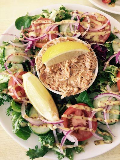 Best-ever crab sandwich, yummy!