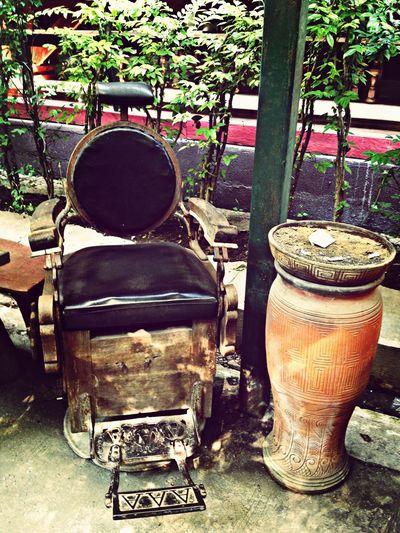 Vintage Barber's Chair
