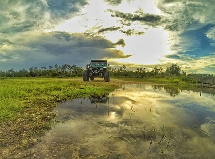 Jeep Jeeplife Jeep Wrangler  Jeeping Everglades  Exploring Pathslesstravelled Little Mud On The Tires Taking Photos Simple Things In Life ItsAJeepThing Minty Mudder Seafoam Green