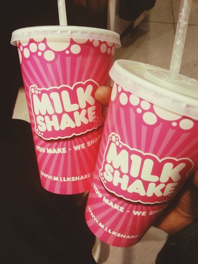 Hmm m&m milkshake or jaffa cake 👌🙏🙌