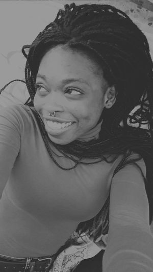 Smiling ^_^ Happymoment Murcia Feelinggood Real People Blackandwhite Blackgirl