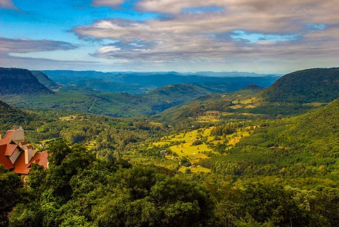 Green Valley Landscape Landscape_Collection Gramado Rio Grande Do Sul  Brazil