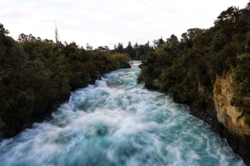 New Zealand Huka Falls Huka Falls, NZ Water Rapids White Water Rapids  White Water Blue colour of life Stormy Weather Stormy Sky Storm Clouds Sunset Nature No People Scenery New Zealand Scenery Motion Tree Beauty In Nature Plant Scenics - Nature Flowing Water River Flowing Sport Long Exposure Sky Day Aquatic Sport Waterfront Blurred Motion Power In Nature Outdoors