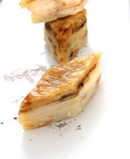 traditional macedonian food , gomleze Diet Macedonia Macedonia Skopje Skopje Tradition Crunchy Dough Flour Food Gomleksiz Gomleze Gömlek Nutrition Ohrid Oil Pastries Pastry Pie Prespa Lake Struga Studio Shot White Background