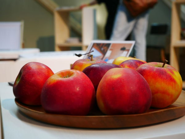 Apple - Fruit Close-up Focus On Foreground Food Food And Drink Freshness Fruit Healthy Eating Indoors  Red Apples Table