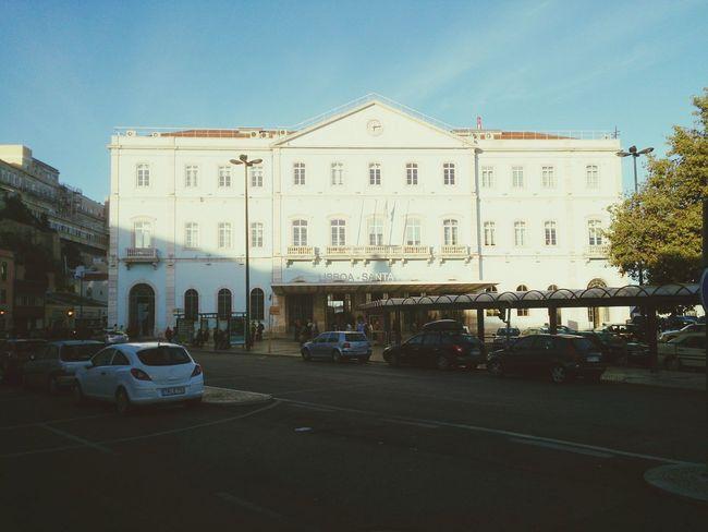 Santa Apolonia Train Station Alfama Lisboa Lisbon